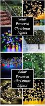 Best Solar Garden Lights Review Uk by 25 Unique Solar Powered Christmas Lights Ideas On Pinterest