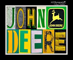 john deere letter art home decor wall art photo by a2zphotography