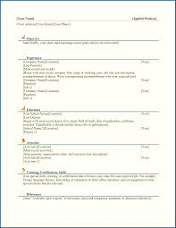 simple resume template resume skills template word template for resume sle resume