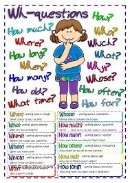 questions poster free esl worksheets teaching english