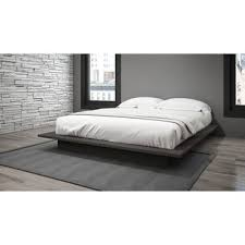 Bed With Frame And Mattress Modern Low Profile Beds Allmodern