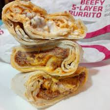 beefy 5 layer burrito taco bell
