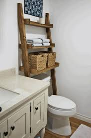 space saving toilet finish stained plastering wall slanted