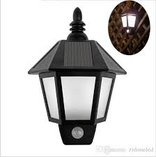 Outdoor Wall Sconce With Motion Sensor 2018 Outdoor Wall Lights New Led Solar Light Modern Outdoor