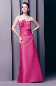 fuschia bridesmaid dress buy tailor made modern design strapless fuschia bridesmaid dresses