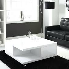 High Gloss Side Table Black High Gloss Coffee Table Glass Side L With Drawers