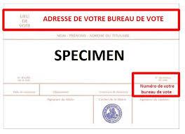 changement bureau de vote elections législatives 1er tour accueil