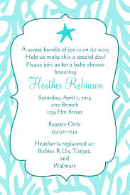 the sea baby shower invitations the sea baby shower invitations party xyz