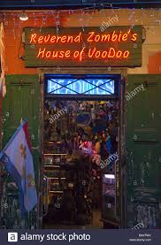 Zombie House New Orleans Louisiana Reverend Zombie S House Of Voodoo In The