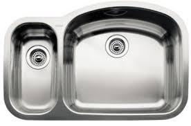 Kitchen Sink Stainless Steel by Blanco 440243 Blancowave 1 1 2 Bowl Undermount Kitchen Sink