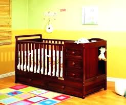 White Crib And Changing Table Combo Crib Changer Combo Every Nursery Furniture Set Needs At Least