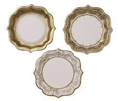 baby shower supplies online party porcelain gold paper plates baby shower theme party