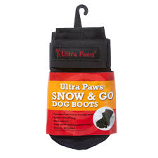 ultra paws snow u0026 go dog boots black with same day shipping
