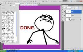 Cartoon Meme Faces - photoshop meme face brushes by thefr33kshow on deviantart