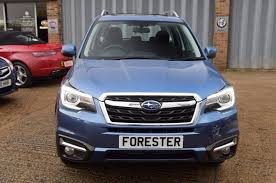 subaru forester 2017 quartz blue used 2017 subaru forester 2 0i xe premium for sale in west sussex
