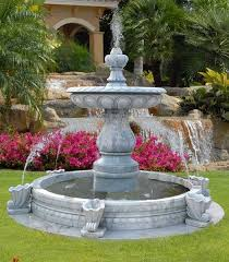 incredible large yard fountains garden fountain design ideas