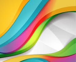 colorful designer colorful design wave background free vector graphics all free