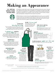 designing the updated starbucks dress code and partner experience