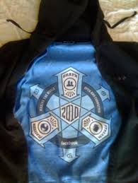 join the cult facebook hoodie with mysterious insignia found on