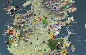 Map Of Essos Interactive Map Of Game Of Thrones Boing Boing