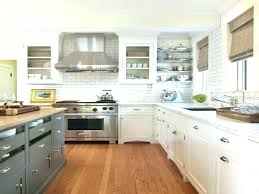 Two Tone Kitchen Cabinet Doors Two Toned Kitchen Cabinets Tone Cabinet Doors Kitchens Blue And
