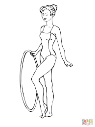 gymnastics coloring pages free coloring pages