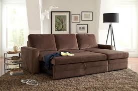 Sofa Sleeper Los Angeles Gus Brown Fabric Sectional Sofa A Sofa Furniture Outlet