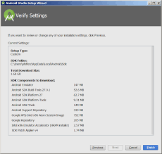 android sdk platform tools android studio setup wizard verify settings screen home zach s