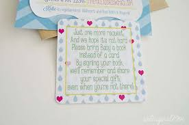baby shower bring a book instead of a card poem baby shower invitation wording bring books instead of card