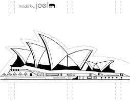 template made by joel paper city sydney opera house jpg 1600 1250