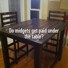 Getting Paid Under The Table Do Midgets Get Paid Under The Table