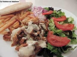 assiette cuisine recette d assiette complète kebab