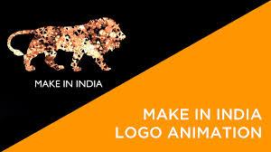 Home Decor Logos Make In India Logo Animation Lion Youtube Idolza