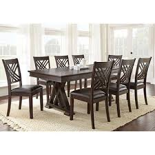 8 chair dining table sophisticated avalon dining table and chairs 9 piece set sam s club