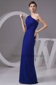 royal blue chiffon bridesmaid dresses royal blue one shoulder bridesmaid dresses prom gown