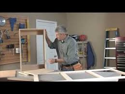How To Build Wall Cabinets For Garage Kreg Jig Wall Cabinet Part 1 Youtube
