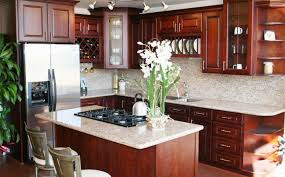 Cherrywood Kitchen Cabinets Furniture Dark Kitchen Cabinets Beautiful Cherry Wood Furniture