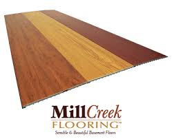 basement wood flooring millcreek faux wood moldproof waterproof