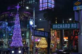 Christmas Decorations Online Singapore by Christmas Decorations On Orchard Road Singapore Singapore