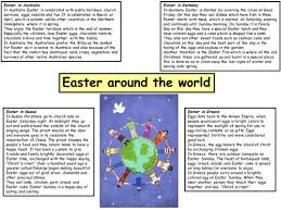 easter celebrations around the world for powerpoint happy easter