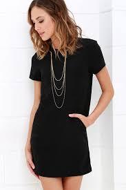 black shift dress black dress shift dress sleeve dress 59 00