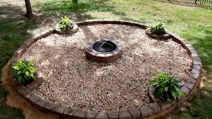 Large Fire Pit Ring by Fire Pit Design Ideas Hgtv