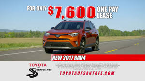 toyota dealer services one pay rav4 lease from toyota of santa fe new mexico toyota