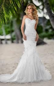 mermaid style wedding dress wedding dress sweetheart neckline naf dresses