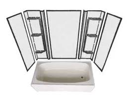 Bathtub Wall Kit Bath Tub Kit With Shower Surround Mobile Home Repair
