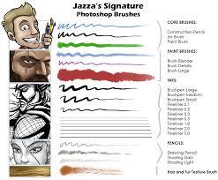 jazza u0027s signature photoshop brushes jazza studios