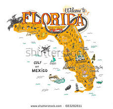 florida map florida map stock images royalty free images vectors