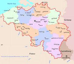 belgium in the map belgium map map of belgium