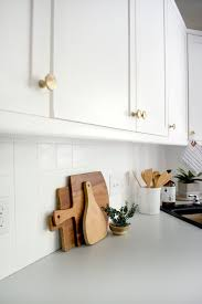what is the best backsplash for a white kitchen how to paint your tile backsplash brepurposed