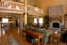 log home interior photos discover our interiors whisper creek log homes